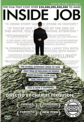 Inside Job movie poster (2010) poster MOV_f4e64f27
