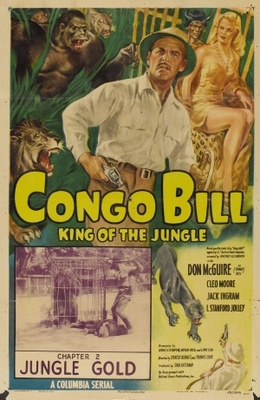 Congo Bill movie poster (1948) poster MOV_f4fc7241