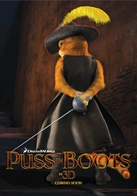 Puss in Boots movie poster (2011) poster MOV_f51bd7df