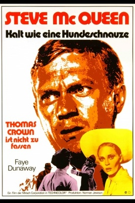 The Thomas Crown Affair movie poster (1968) poster MOV_f529ec0a