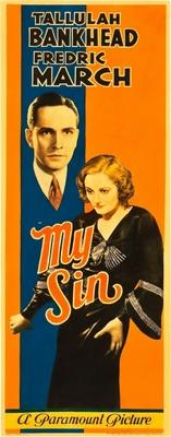 My Sin movie poster (1931) poster MOV_f53bcb50