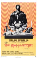 Simon, King of the Witches movie poster (1971) picture MOV_f54b9ccf
