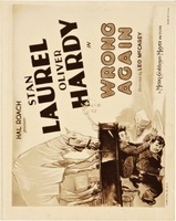 Wrong Again movie poster (1929) picture MOV_f555af9d