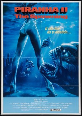 Piranha Part Two: The Spawning movie poster (1981) poster MOV_f5583231
