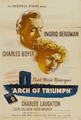 Arch of Triumph movie poster (1948) poster MOV_f5901b97