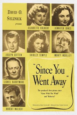 Since You Went Away movie poster (1944) poster MOV_f5a2077c