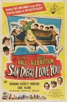 San Diego I Love You movie poster (1944) picture MOV_f5a6ae5b