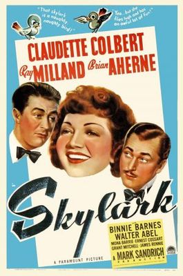 Skylark movie poster (1941) poster MOV_f5a99ea2