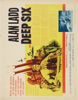 The Deep Six movie poster (1958) picture MOV_2ef31407