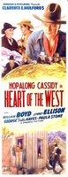 Heart of the West movie poster (1936) picture MOV_f5b9b31d