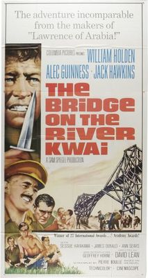 The Bridge on the River Kwai movie poster (1957) poster MOV_f5c9e28b
