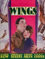 Wings movie poster (1927) picture MOV_f5cb1b64