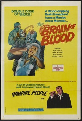 Brain of Blood movie poster (1972) poster MOV_f5cd3ce5