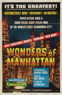 Columbia Musical Travelark: Wonders of Manhattan movie poster (1955) poster MOV_f5d61e3a