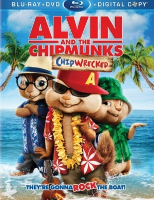 Alvin and the Chipmunks: Chip-Wrecked movie poster (2011) poster MOV_f5e6f5b5