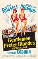 Gentlemen Prefer Blondes movie poster (1953) picture MOV_f5efea5b