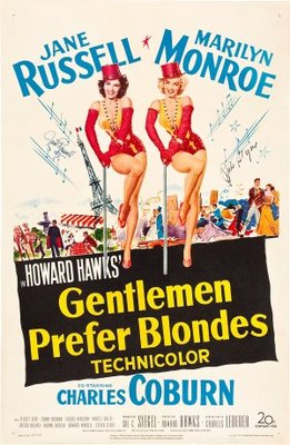 Gentlemen Prefer Blondes movie poster (1953) poster MOV_f5efea5b