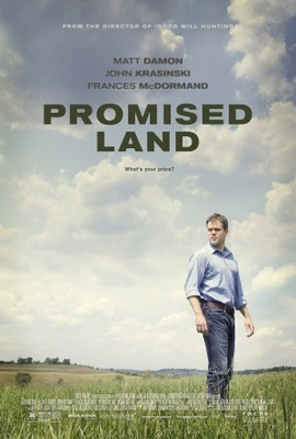 Promised Land movie poster (2012) poster MOV_f5fc33d0