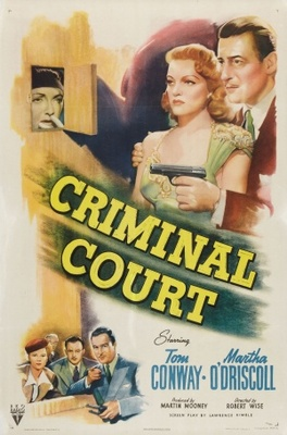 Criminal Court movie poster (1946) poster MOV_f6019b7d