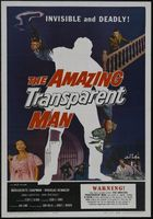 The Amazing Transparent Man movie poster (1960) picture MOV_1adcd311