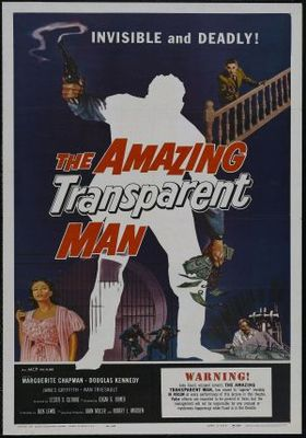 The Amazing Transparent Man movie poster (1960) poster MOV_f606ecba