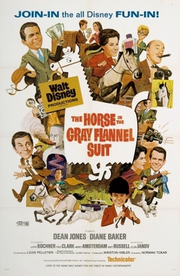 The Horse in the Gray Flannel Suit movie poster (1968) poster MOV_f60cf3e9