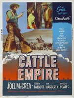 Cattle Empire movie poster (1958) picture MOV_f62b573a