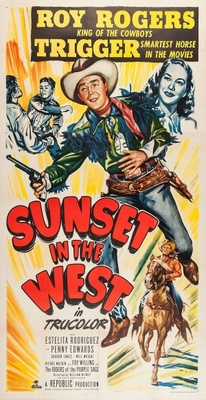 Sunset in the West movie poster (1950) poster MOV_f63e03be