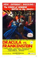Dracula Vs. Frankenstein movie poster (1971) picture MOV_f6646d8b
