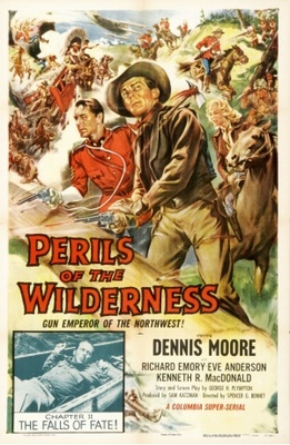 Perils of the Wilderness movie poster (1956) poster MOV_f67bd53b