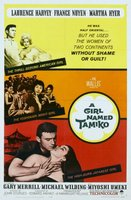 A Girl Named Tamiko movie poster (1962) picture MOV_f67be881
