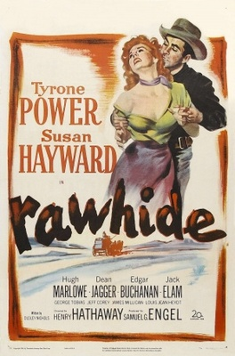 Rawhide movie poster (1951) poster MOV_f67f6978