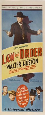 Law and Order movie poster (1932) poster MOV_f686cedd