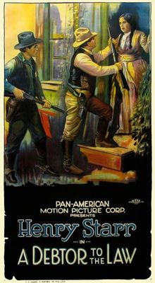 A Debtor to the Law movie poster (1919) poster MOV_f689a755