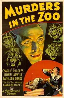 Murders in the Zoo movie poster (1933) poster MOV_f6a911ee