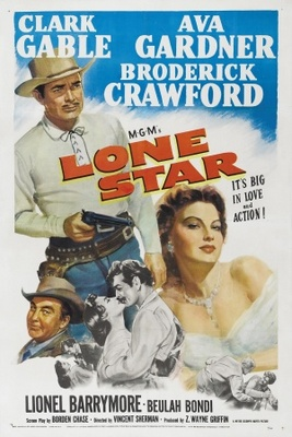 Lone Star movie poster (1952) poster MOV_f6ac6eb3