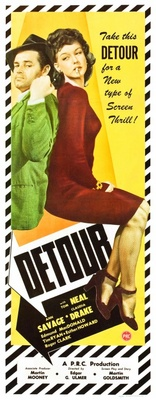 Detour movie poster (1945) poster MOV_f6ada26e