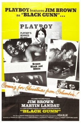 Black Gunn movie poster (1972) poster MOV_f6c56f4d