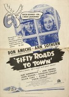 Fifty Roads to Town movie poster (1937) picture MOV_f6f942c0