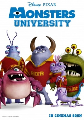 Monsters University movie poster (2013) poster MOV_f70f9311