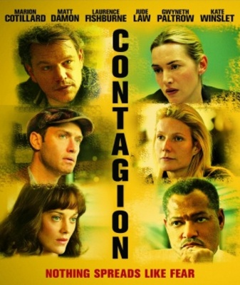 Contagion movie poster (2011) poster MOV_f7214133