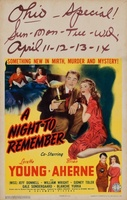 A Night to Remember movie poster (1943) picture MOV_f7244ce7
