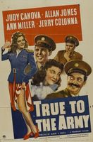 True to the Army movie poster (1942) picture MOV_f72ba8fd