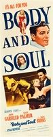 Body and Soul movie poster (1947) picture MOV_f7338f4b