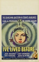 I've Lived Before movie poster (1956) picture MOV_f736c462