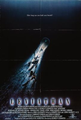 Leviathan movie poster (1989) poster MOV_f76db975