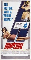Homicidal movie poster (1961) picture MOV_f777300e