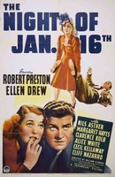 Night of January 16th movie poster (1941) picture MOV_f77790f8