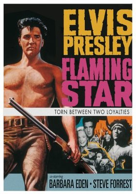 Flaming Star movie poster (1960) poster MOV_f77f8acf