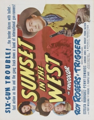 Sunset in the West movie poster (1950) poster MOV_f7839a4d